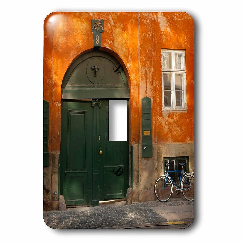 【新作からSALEアイテム等お得な商品満載】 3dローズLSP_ 188180デンマーク__ 3dローズLSP 1。コペンハーゲン –。カラフルな建物with Bikes Parked外。 – Singleトグルスイッチ、マルチカラー B00MBWW3JQ, カドマシ:fd3e14f2 --- svecha37.ru