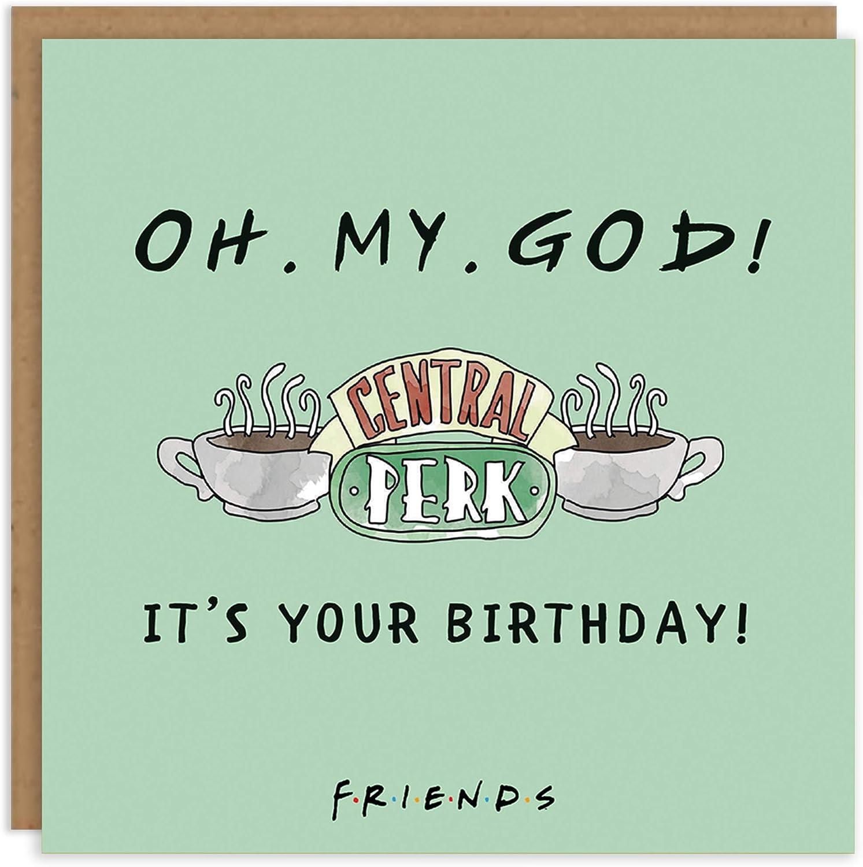 Friends TV Series Birthday Card Janice