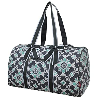 573e61727841 Image Unavailable. Image not available for. Color  Quatre Vine NGIL Large  Quilted Duffle Bag