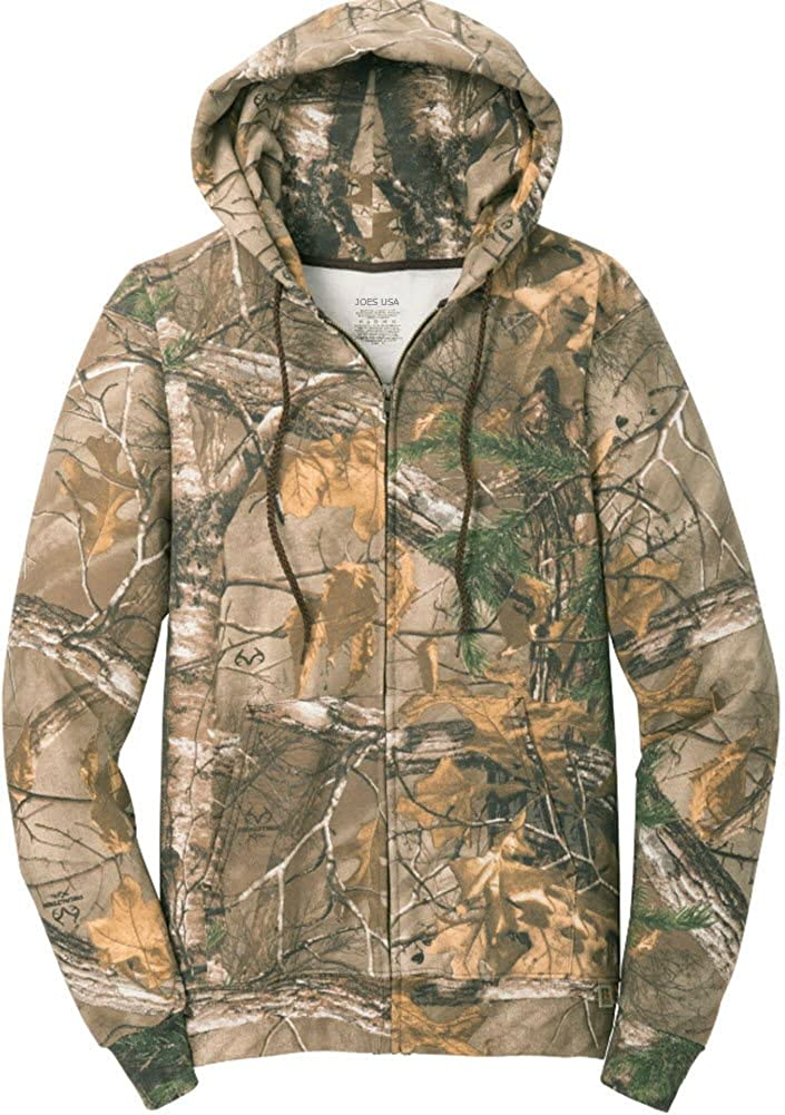 New Realtree Girl Zip Hoodie Women/'s Sweatshirt Large