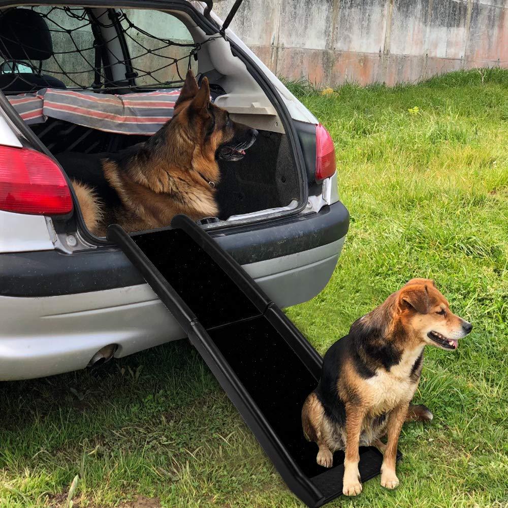 negro, 40 /× 156 cm Rampa para perros Eono by