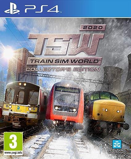 Playstation Games 2020.Train Sim World 2020 Collector S Edition Playstation 4