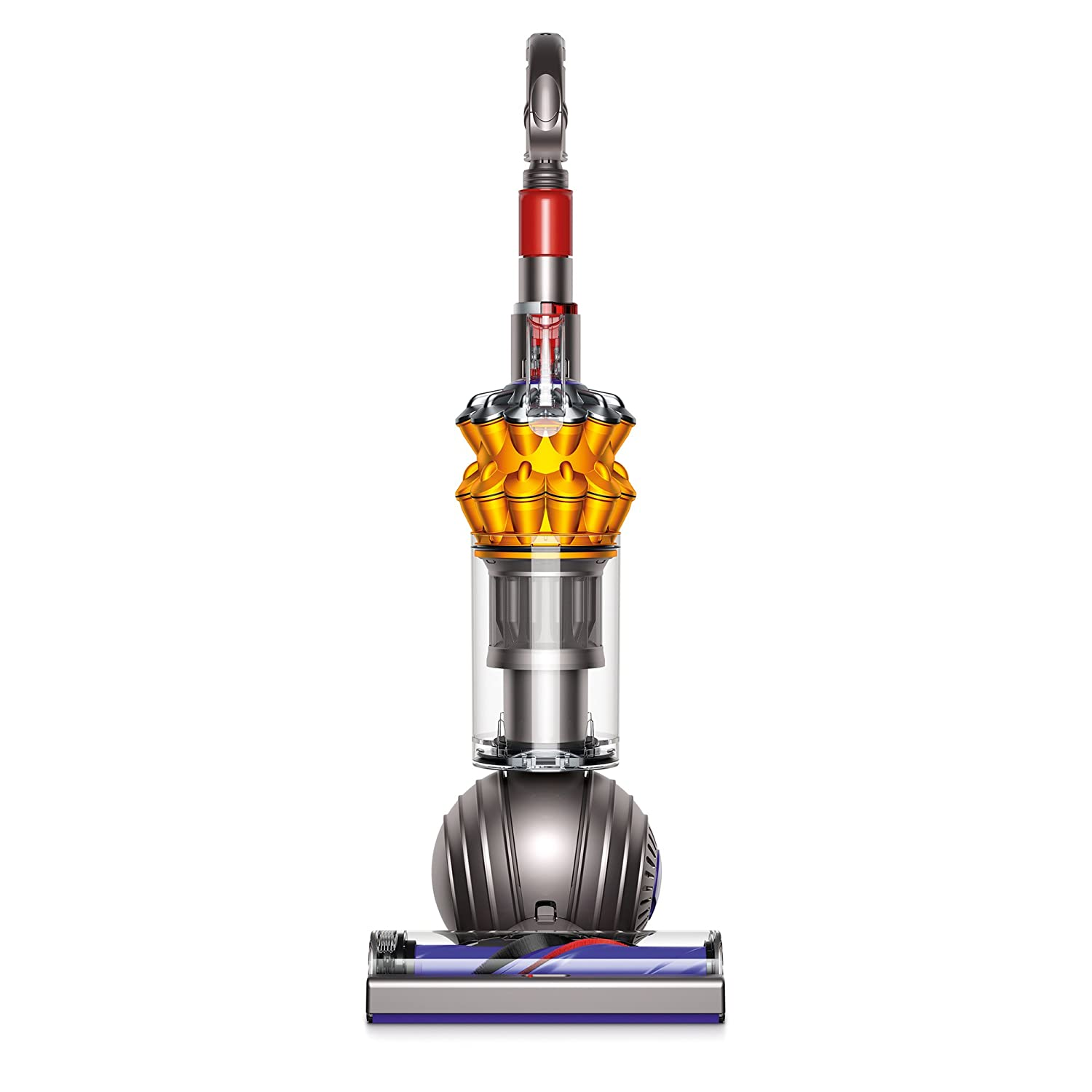 Dyson Small Ball Multi Floor Upright Vacuum Cleaner Iron/Yellow