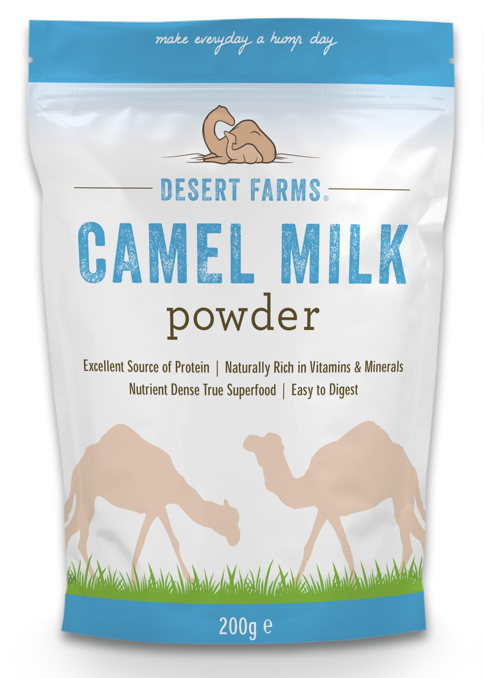 Desert Farms Camel Milk Powder, Freeze Dried by Desert Farms