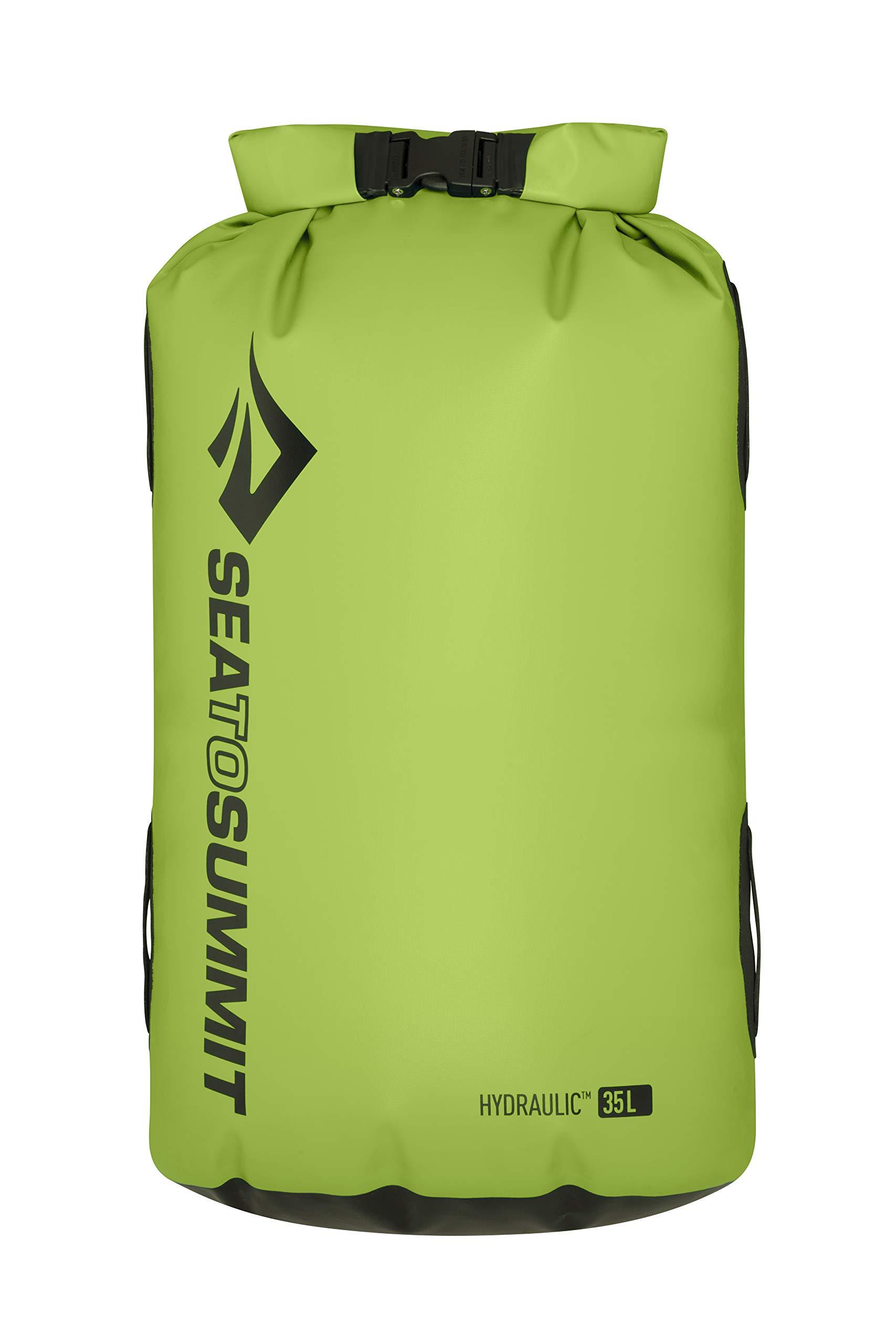 Sea to Summit Hydraulic Dry Bag - Green 35L by Sea to Summit