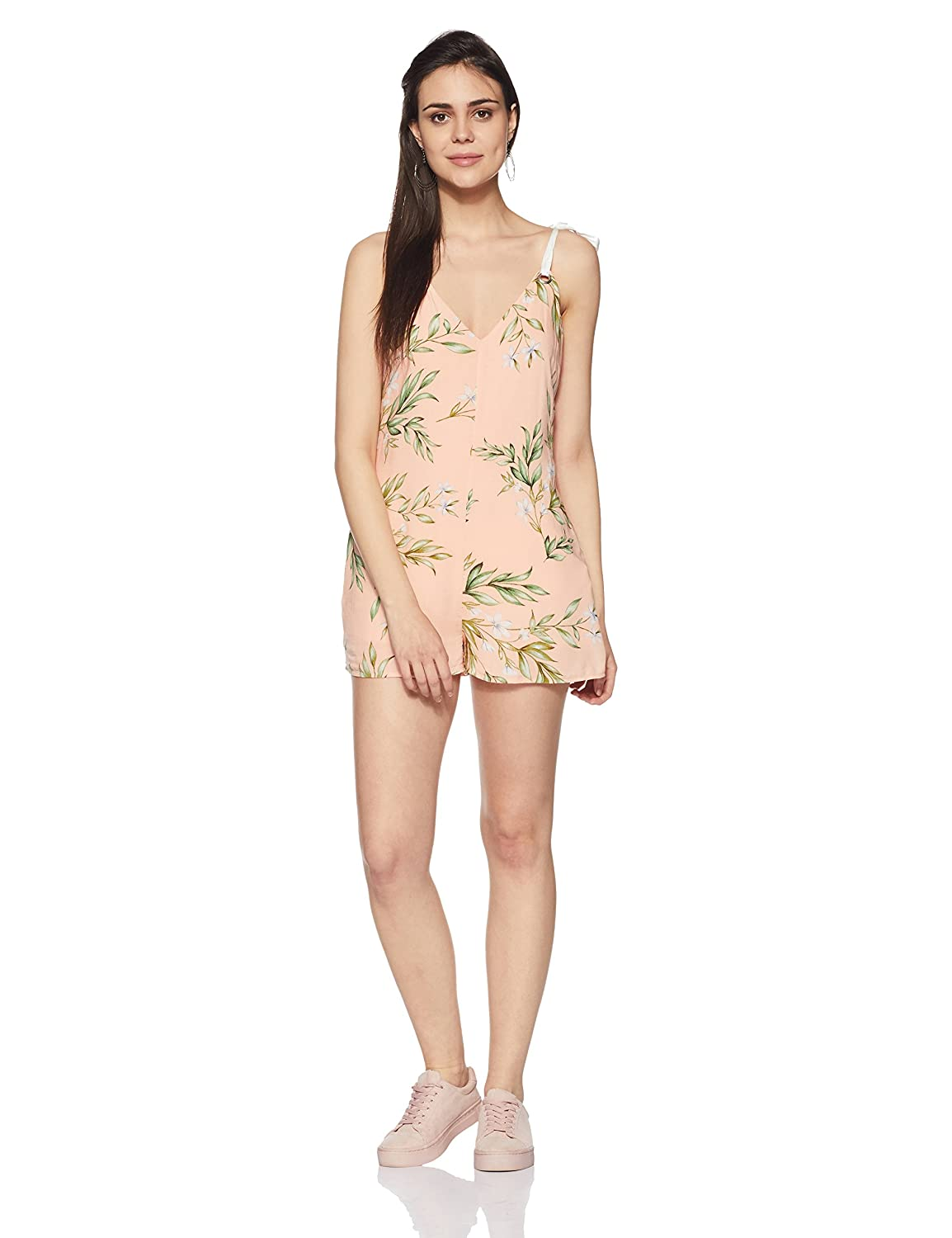 Forever 21 Women's Rayon Jumpsuit
