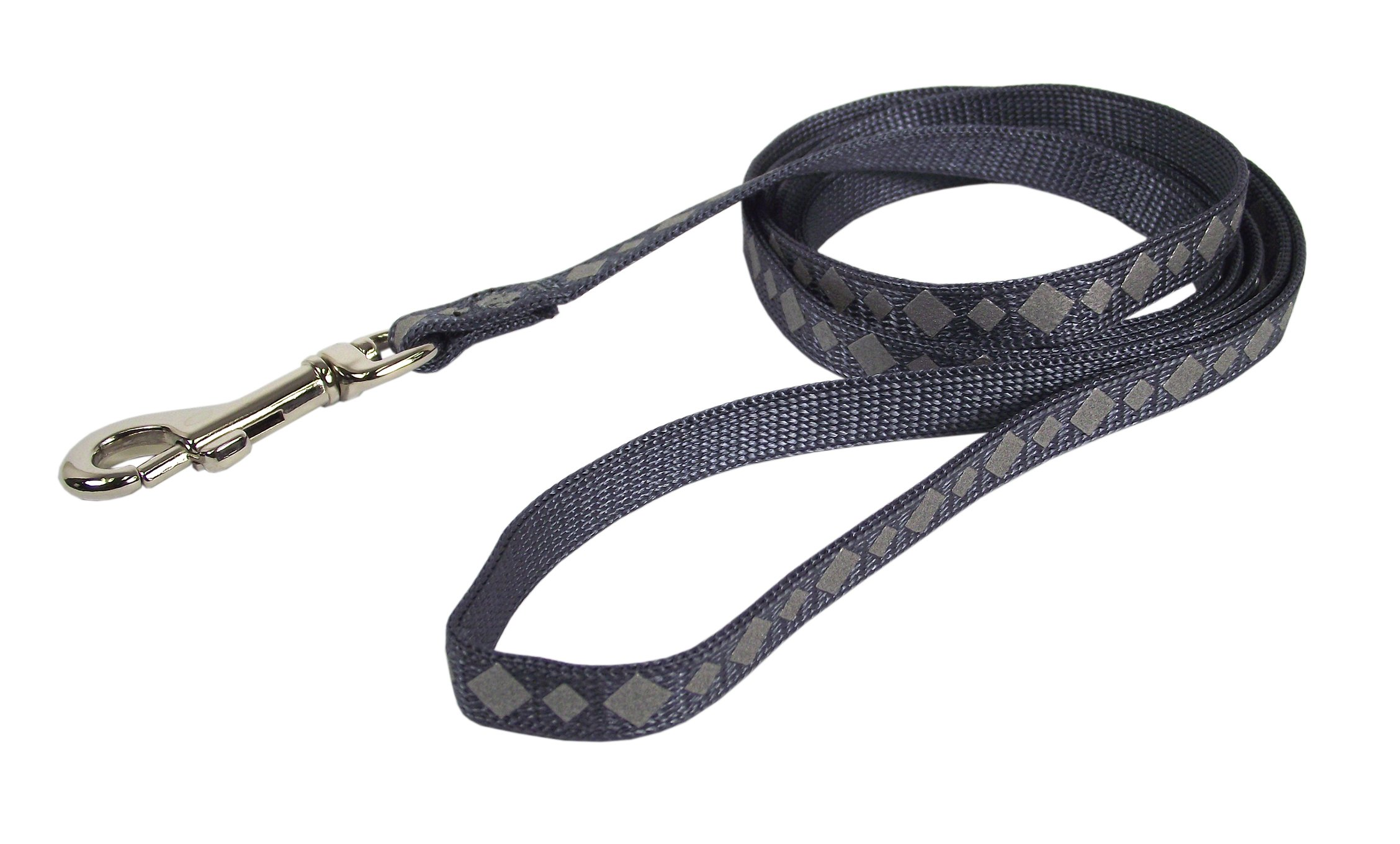 Hamilton Reflective Snag Proof Braided Cat Lead, 3/8-Inch by 4-Feet, Graphite
