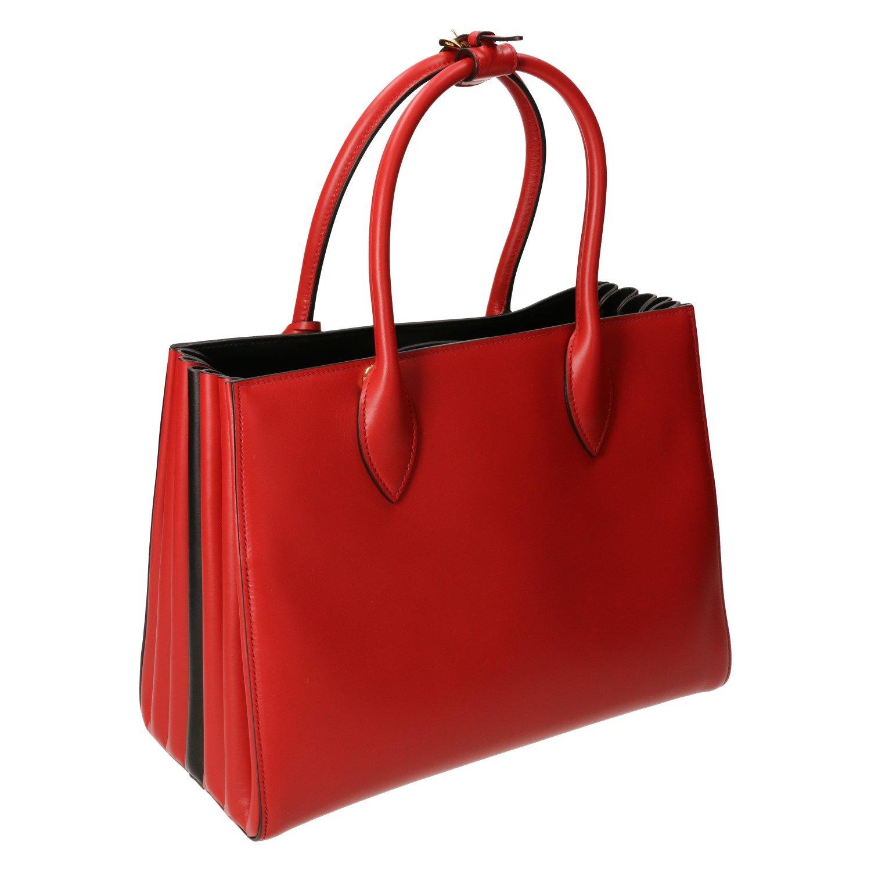 53df91bf91 Prada Bibliothèque Medium Colorblock Tote Bag Red + Black  Amazon.ca  Shoes    Handbags