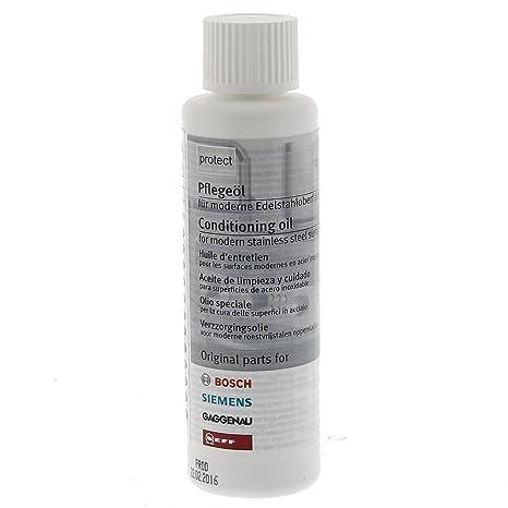 Bosch 00311567 - Aceite acondicionador para superficie de acero inoxidable