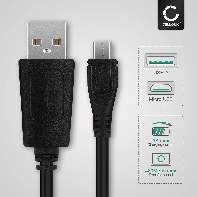 1000 1030 // Dashcam 55 // Zumo 595 // Approach//Dezl 760 820 Cavo USB 1m compatibile con Garmin Edge 520 Plus subtel/® Caricabatteria Caricatore Micro USB Alimentatore 1A // 1000mA 5V Cavo ricarica