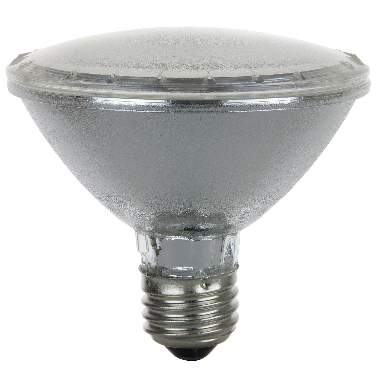 Sunlite 50PAR30 HAL NSP 50 Watt Halogen PAR30 Reflector Bulb Clear