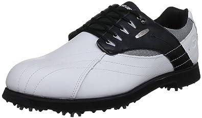 HiTec Mens DriTec G300 WhiteBlack Golf Shoe G001786012