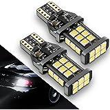 [2018 UPGRADED] 921 LED Bulb Backup Lights, 912/T15 Reverse Lights, SEALIGHT Error Free Non-polarity High Power 24 LED Chipsets 1600 Lumens Cool White Xenon 6000K, 1 Yr Warranty (Pack of 2)