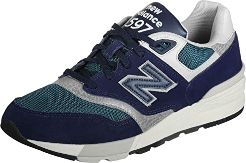 new balance 597 uomo blu