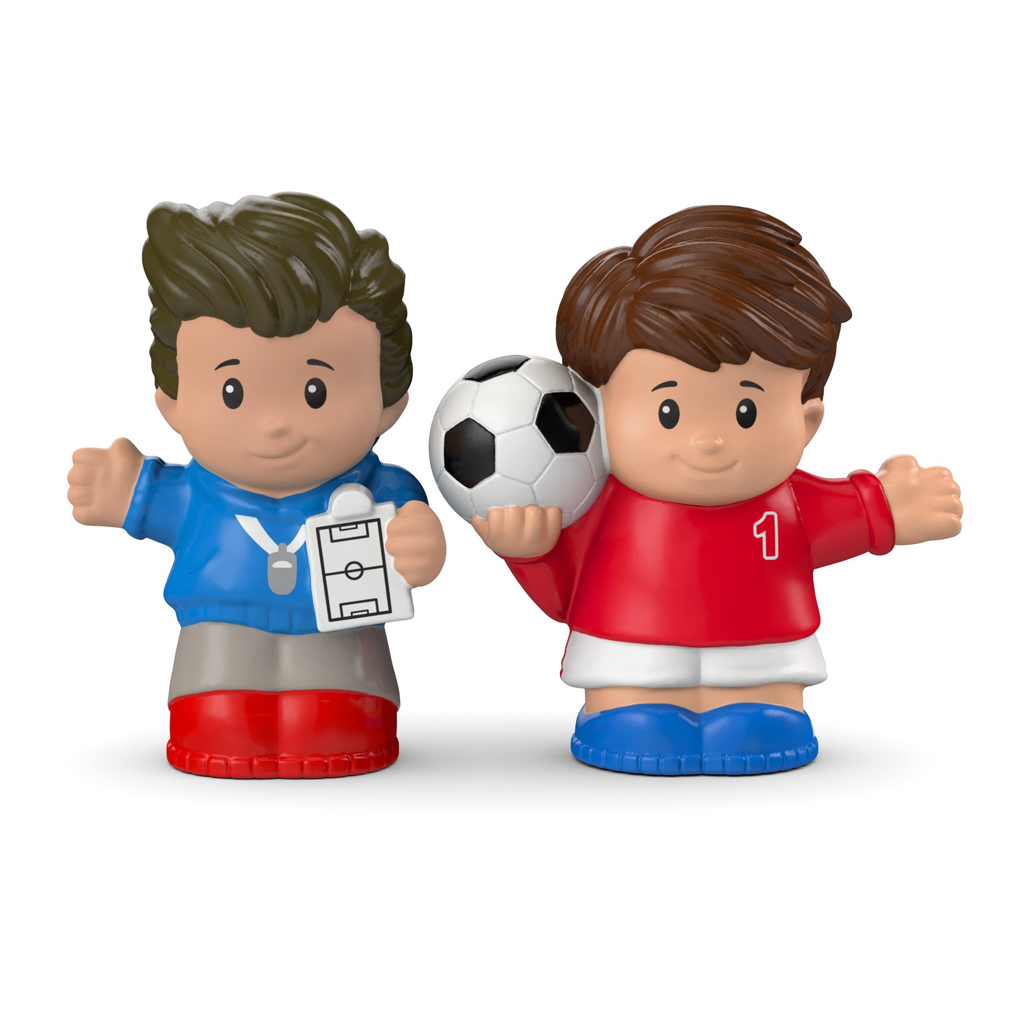 Fisher-Price Little People Soccer Player & Coach