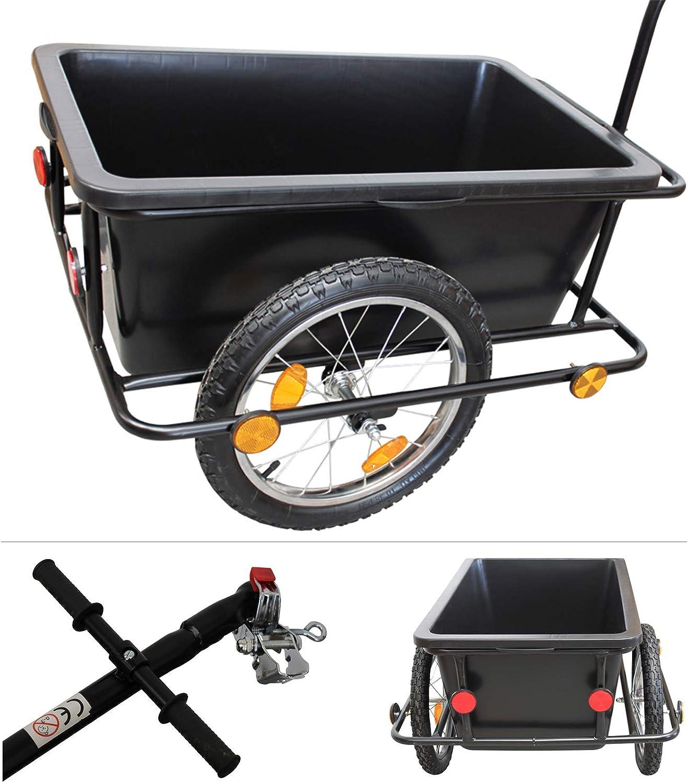 Grafner® XXL - Remolque de bicicleta (150 kg carga): Amazon.es ...