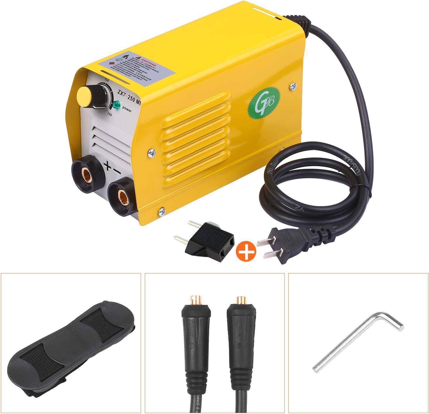 Kecheer Soldador de arco electrico,Máquina de soldadura eléctrica inverter IGBT,para soldar trabajos eléctricos,para acero inoxidable/acero al carbono/acero de baja aleación/cobre