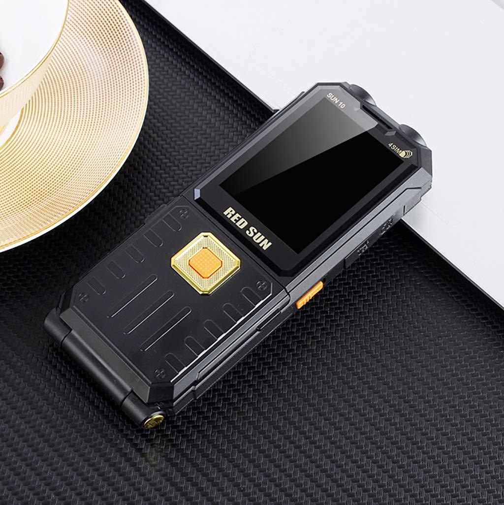 携帯電話携帯電話のロックを解除 ロック解除GSMデュアルSIM携帯電話フリップアンテナ携帯電話 携帯電話携帯電話のロックを解除 (色 : ブラック) B07R67M9XD ブラック