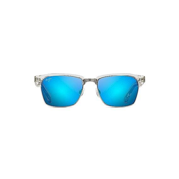 d7f45225f5 Maui Jim Kawika Sunglasses (B257-05CR) Crystal 54-18-140  Amazon.co.uk   Clothing