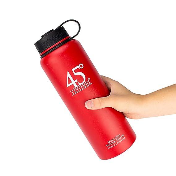 Amazon.com: Botella de agua 45 Latitud de 40oz ...