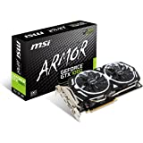 MSI Computer GTX 1060 Armor 3G OCV1 NVIDIA GEFORCE GDDR5 DVI/2HDMI/2DisplayPort PCI-Express Video Card