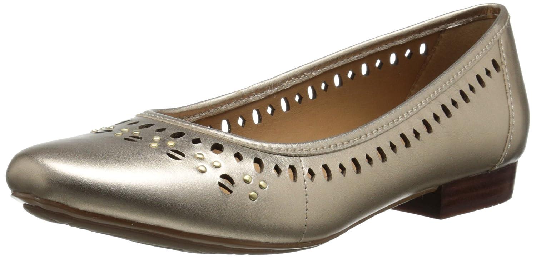 CLARKS Women's Lockney Hot Flat B00MUB92GU 7 B(M) US|Gold