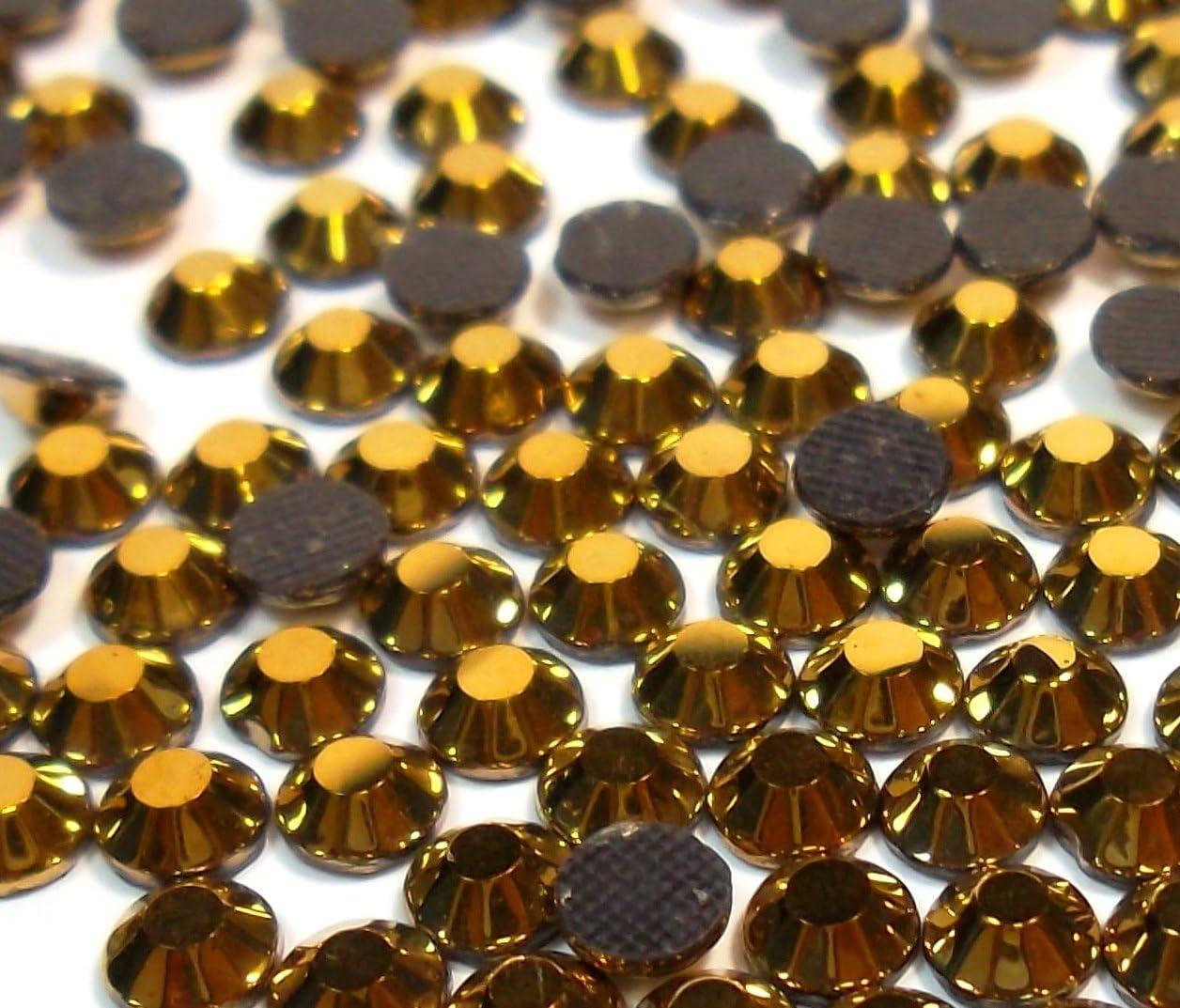 6/mm ss30/termoadhesiva Oro Hematite , hotglue, SS5/imitaci/ón Glass Brillantes Perlas 473/x 2 Perlin Brillantes Hotfix 1440stk
