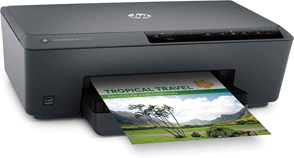 Stampante a colori hp officejet pro 6230 eprinter display led, colore 600 x 1200 dpi, a4, wi-fi