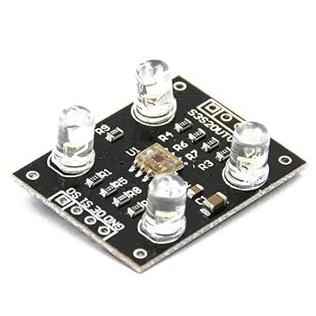 TCS230 TCS3200 Farb Erkennung Sensor Modul Detector Color Arduino 3V-5V