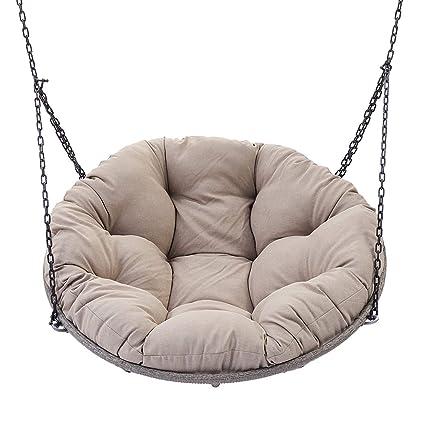 Super Amazon Com Outdoor Hanging Papasan Chair With Cushion Creativecarmelina Interior Chair Design Creativecarmelinacom