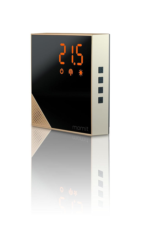 Momit Home Thermostat - Pod MHTG - Termostato Inteligente para calefacción (Unidad Adicional). Control por Smartphone. con opción inalámbrica, ...