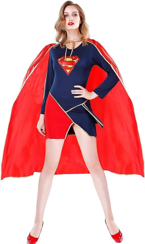 Disfraz De Superman Sexy De Gran Tamaño, Uniformes De Juego ...