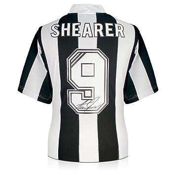 best service f312d 4d9b8 Alan Shearer Back Signed Newcastle 1996 Shirt