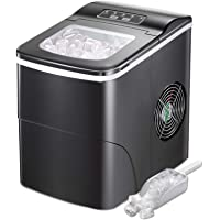 AGLUCKY Ice Maker Machine for Countertop, Portable Ice Cube Makers, Make 26 lbs ice in 24 hrs,Ice Cube Rready in 6-8…