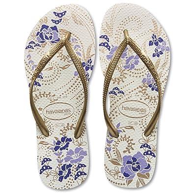 fb35d7a3cbb4ec Havaianas Slim Season Womens Printed Flip Flops  Amazon.co.uk  Shoes   Bags