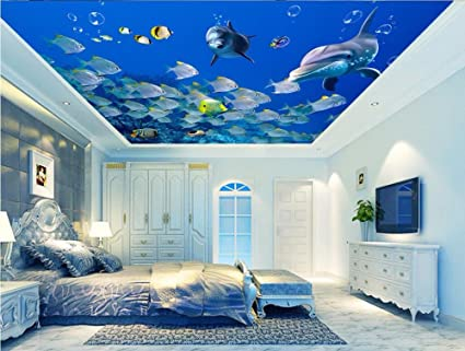 lwcx custom photo 3d ceiling murals wallpaper home decor 3d wallimage unavailable