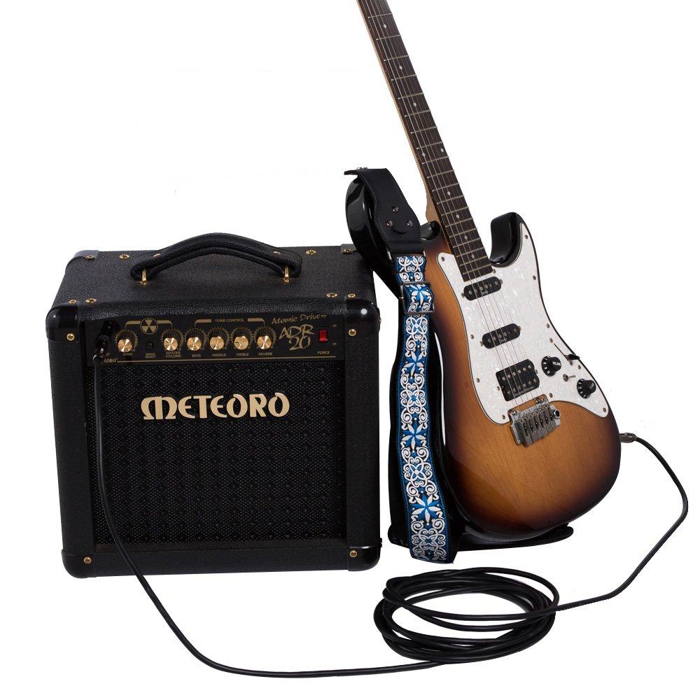 Rayzm cable para guitarra,3 metros de cable para guitarra/bajo,calidad profesional,sin ruido. Cable para escenario y estudio, 6,35mm de cable con conectores ...