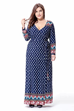 afd2b45f3f71 Muslim Women Long Sleeve Dress Islamic Clothing Dubai Kaftan Plus Size Maxi  Casual Abaya Turkish Caftan