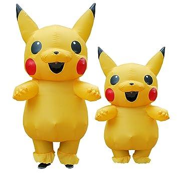UU Outlets adulto Halloween de Pikachu Pokemon Go nueva Cosplay ...