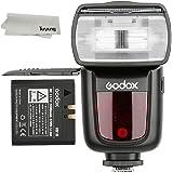 Godox VING V850II GN60 2.4G Off Camera 1/8000s HSS フラッシュ スピードライト ストロボ 内蔵 2.4G ワイヤレス X システム 2000mAh Li-ion電池付き Canon Nikon Pentax Olympas デジタル一眼レフカメラ用