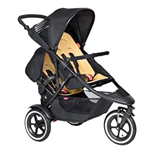 Phil & Teds 2019 Sport Buggy with Doubles Kit (Butterscotch)