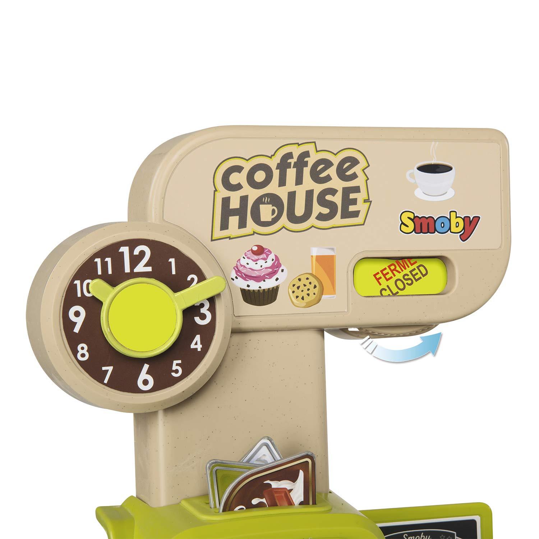 Cafetería Coffee House con luz, sonido y 57 accesorios (Smoby 350214): Amazon.es: Juguetes y juegos