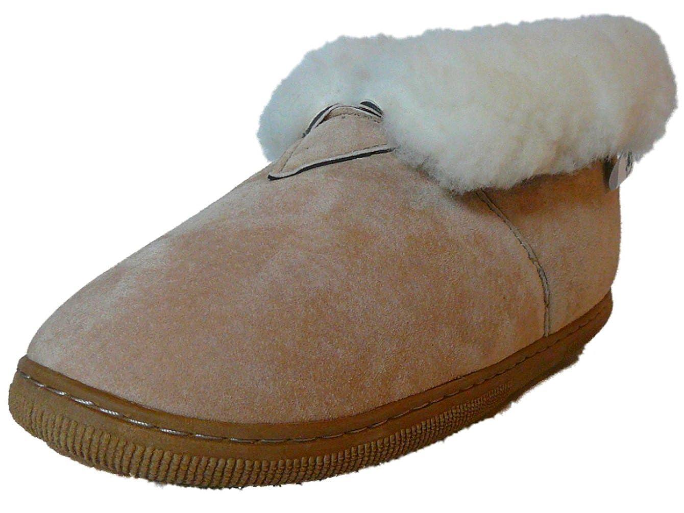f2bcdcbc318c8 Amazon.com | WoolWorks Model 9813 Womens Genuine Australian Shearling  Sheepskin/Suede Booties | Slippers