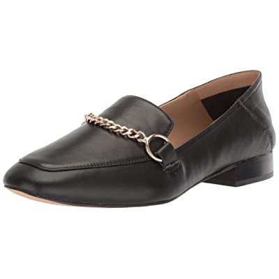 Amazon Brand - The Fix Women's Darien Chain Detail Collapsible Loafer Flat: Shoes