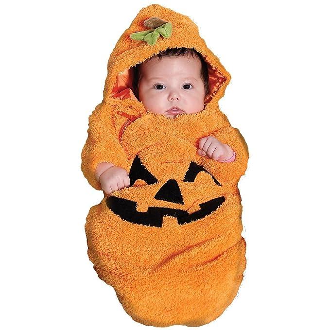 sc 1 st  Amazon.com & Amazon.com: Pumpkin Bunting Baby Infant Costume - Infant: Clothing