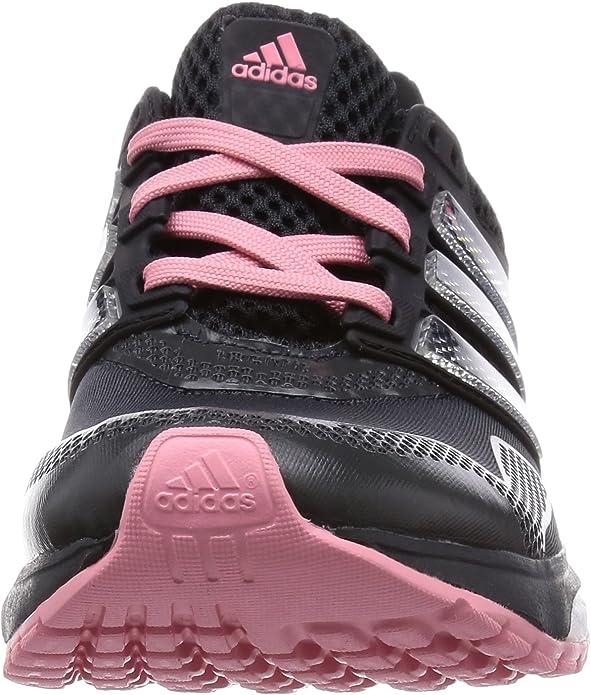 adidas Response Boost 2 Techfit W - Zapatillas de Running para Mujer, Color Gris/Negro/Rosa/Plata, Talla 41 1/3: Amazon.es: Zapatos y complementos