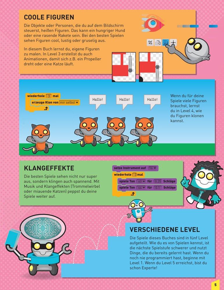 Programmieren für Kids: 20 Spiele mit Scratch(TM): Amazon.co.uk: Max ...