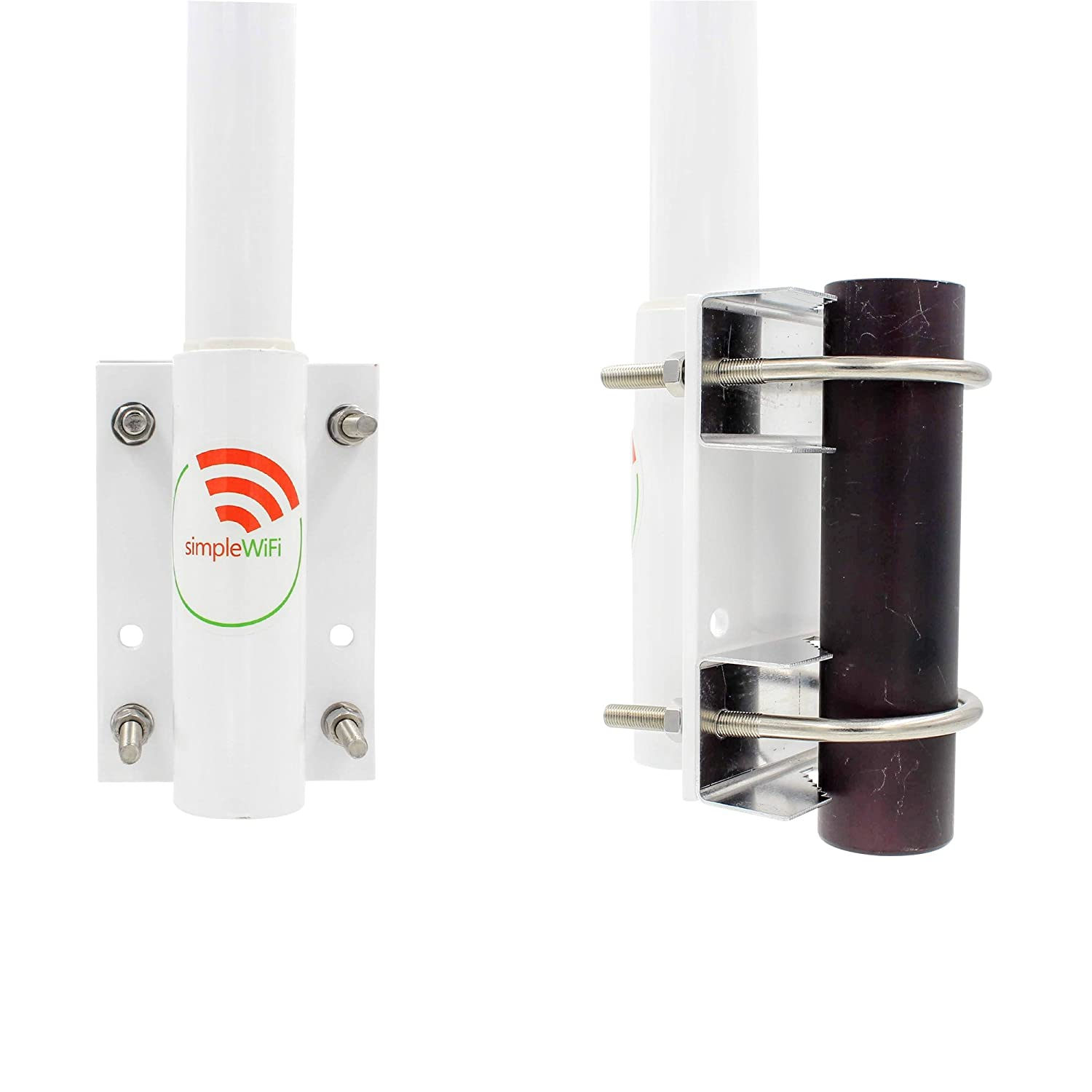 Antenna World Om2415hd 15 Dbi Omni Directional Wi Fi Ha2403gtnf 3 Watt 24 Ghz Outdoor 80211b G N Wifi Amplifier Professional Grade Computers Accessories