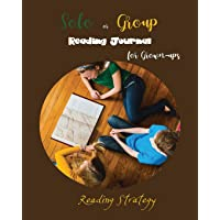 Solo or Group Reading Journal for Grown-ups Reading Strategy