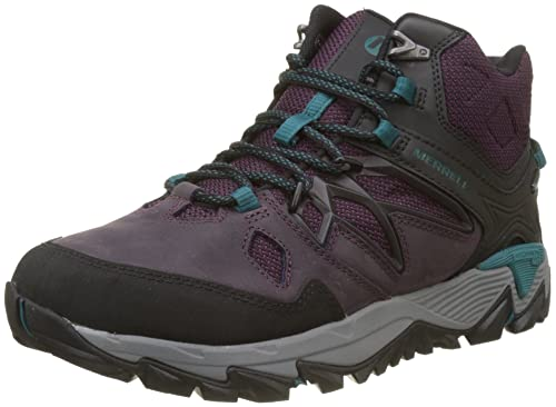 Merrell Women s All Out Blaze 2 Mid GTX High Rise Hiking Boots ... 5afbbb9be62